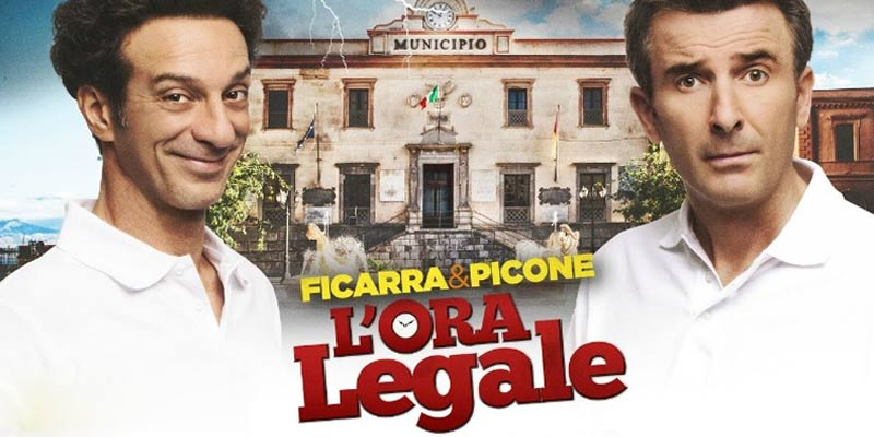 Soundtrack to Ficarra and Picone's: L'Ora Legale