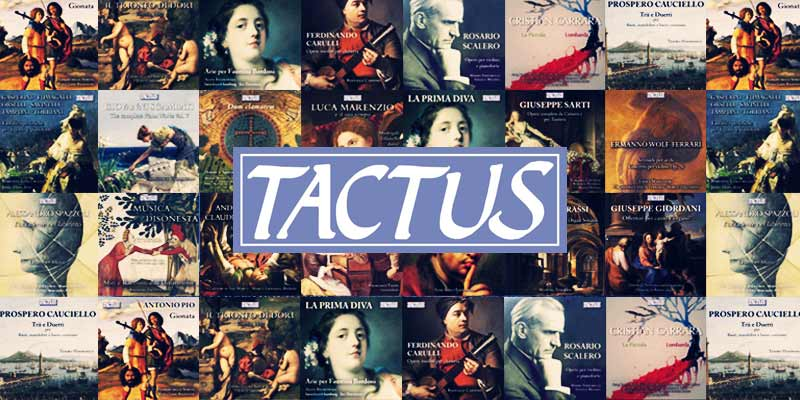 Tactus music: the whole catalogue now available on Machiavelli Music