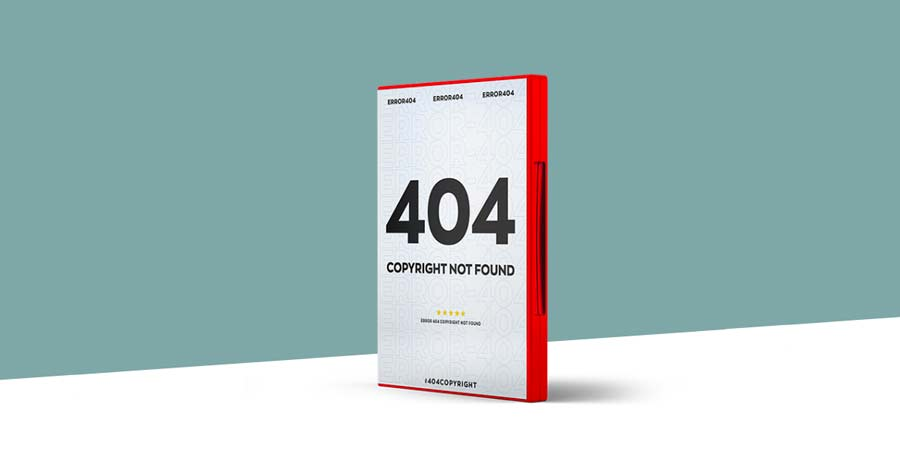 404 copyright not found