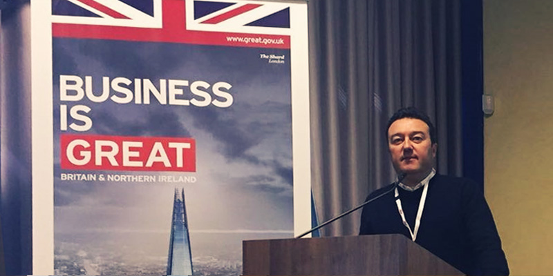Business is great! Pietro al Bootcamp UK-Italy Springboard