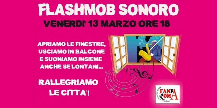 flashmobsonoro apriamo le finestre e suoniamo tutti insieme