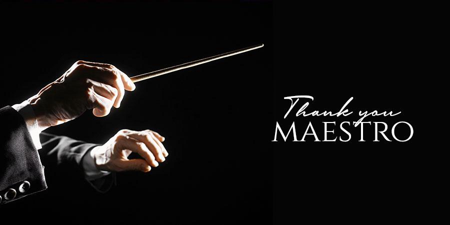 july 6 2020 thank you maestro