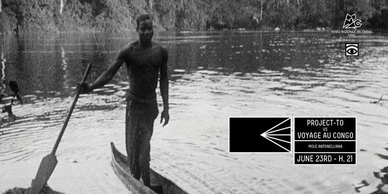 Invito alla prima del film VOYAGE AU CONGO