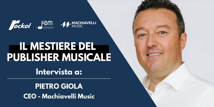 the job of the music publisher today focused on pietro giola